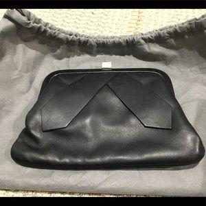 Emporio Armani Genuine Leather Clutch